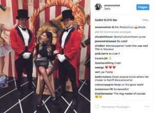Als @weworewhat ist Danielle Bernstein auf Instagram