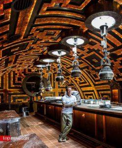 Ashley Sutton in der Bar 'Dreadnought', die noch 2017 im Avani Riverside Hotel in Bangkok eröffnen wird.