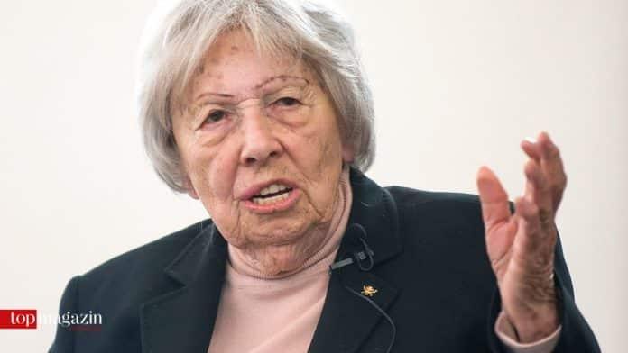 Die Holocaust-Überlebende Trude Simonsohn