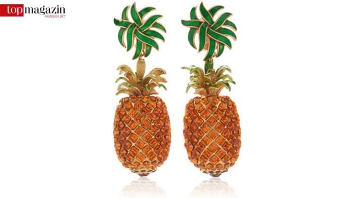Dolce & Gabbana Pineapple Earrings