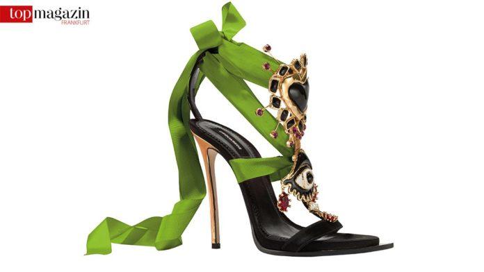 Embellished Satin Sandals by Dsquared2
