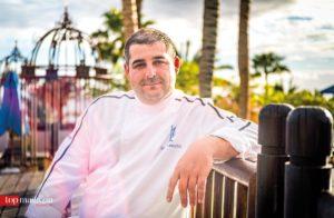Erlantz Gorostiza, Küchenchef des Zweisternerestaurants 'M.B.' im 'The Ritz-Carlton Abama'
