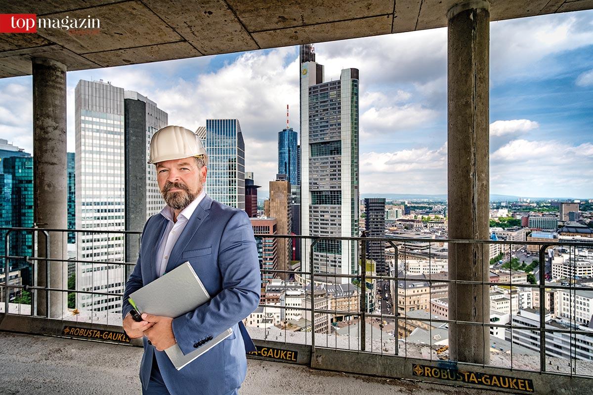 Jörg Werner (GEG) auf der Winx-Baustelle