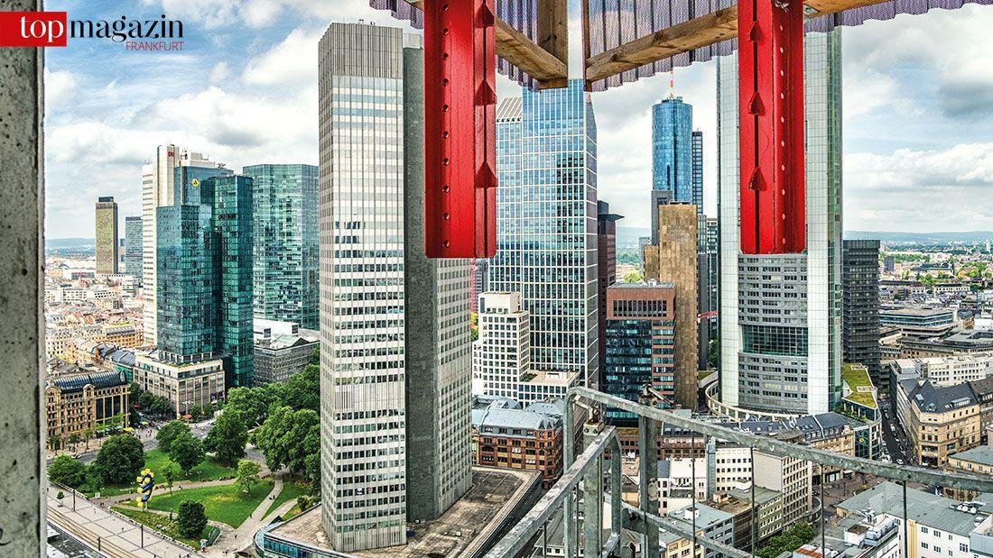 Zwischen Vertikalen Und Horizontalen Frankfurts Neue Skyline Top
