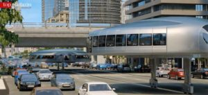 Auch Brücken stellen für die Gyro-Gondeln kein Problem dar
