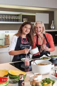 Enkelin Lily mit Marika Kilius
