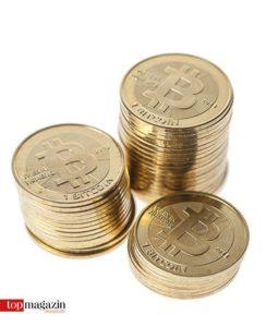 Das Logo ist echt, die Münzen nicht. Denn Bitcoins existieren nur virtuell.
