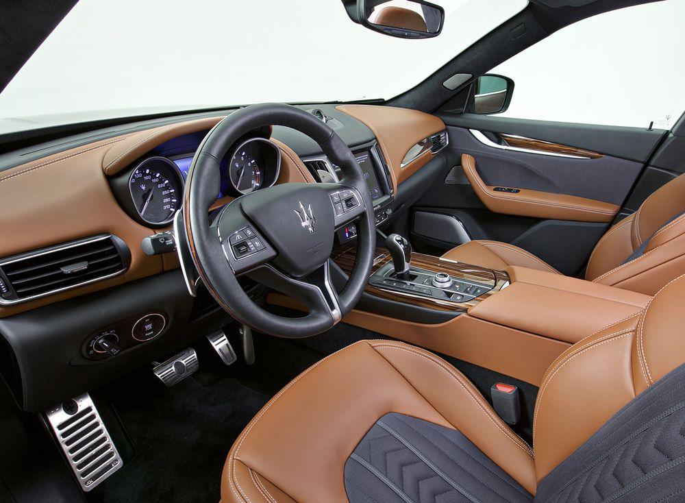 2017 Maserati Levante SUV Ermenegildo Zegna Edition