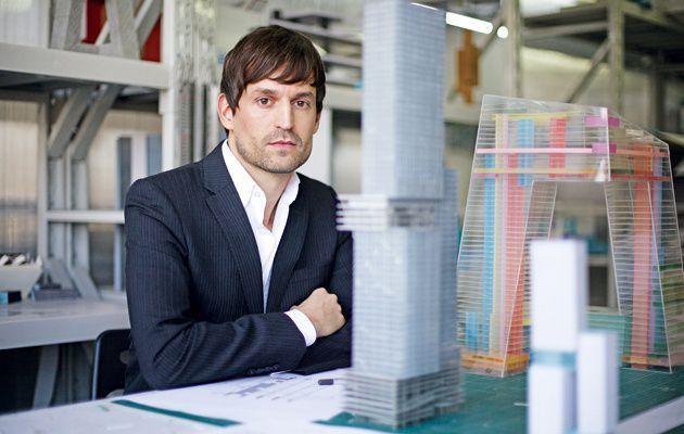stararchitekt ole scheeren baut hochhaus im bahnhofsviertel frankfurt. Black Bedroom Furniture Sets. Home Design Ideas