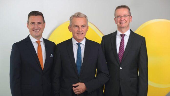 Christian Schmitt, Ralf Teckentrupp und Ulrich Johannwille