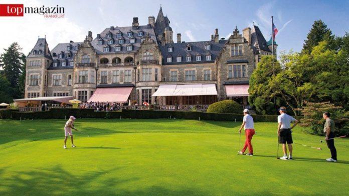 Der idyllische Golfplatz des Schlosshotel Kronberg (Foto Martin Joppen)