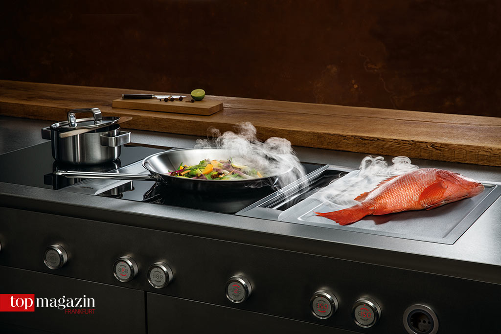 Der innovative Kochfeldabzug von Bora