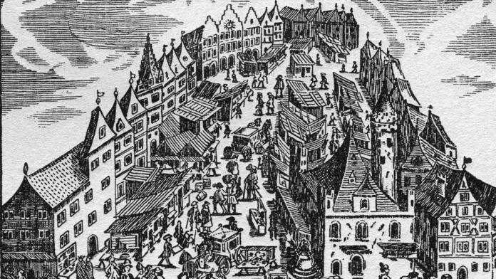 Frankfurt im Jahre 1696