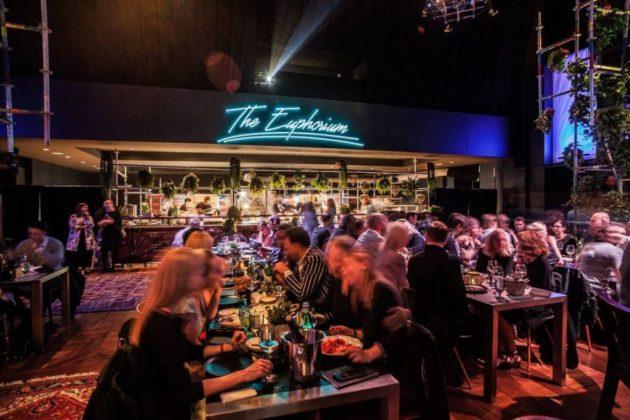 """Unter dem Namen """"Euphorium"""" kreierte Jihane Kofler das """"Art Concept"""" fürs Pret a Diner"""