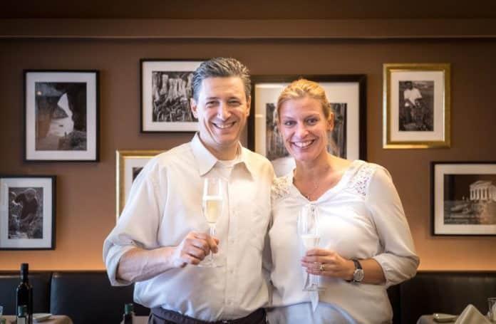 Restaurantleiter Giacomo Ottomanelli und Inhaberin Maren Altpeter