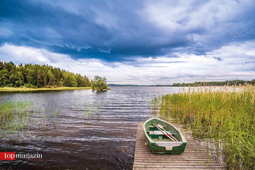 Smaland ist bekannt für seine zahlreichen Seen.