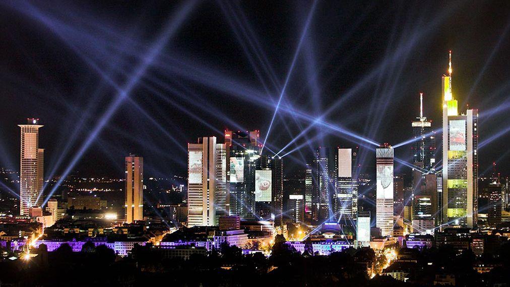 So präsentierte sich Frankfurt zur WM 2006