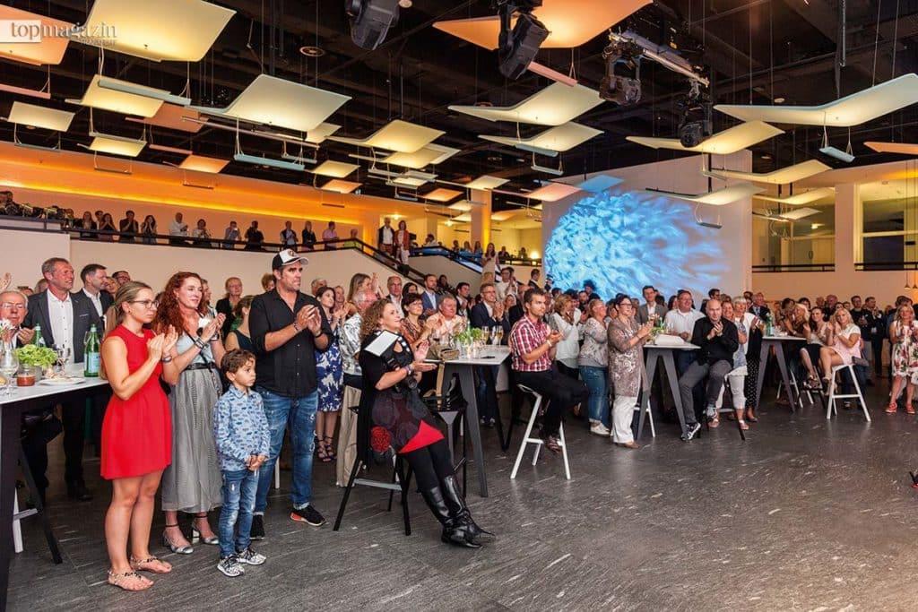 Großer Zuspruch - Fast 400 Gäste fanden den Weg in das Staatstheater Darmstadt.