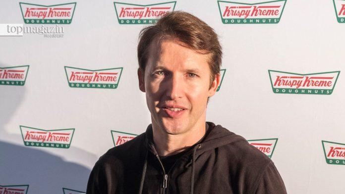 James Blunt mag es süß - Auf ein Frühstück im MTZ