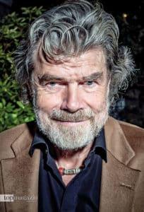 Bergsteiger und Autor Reinhold Messner