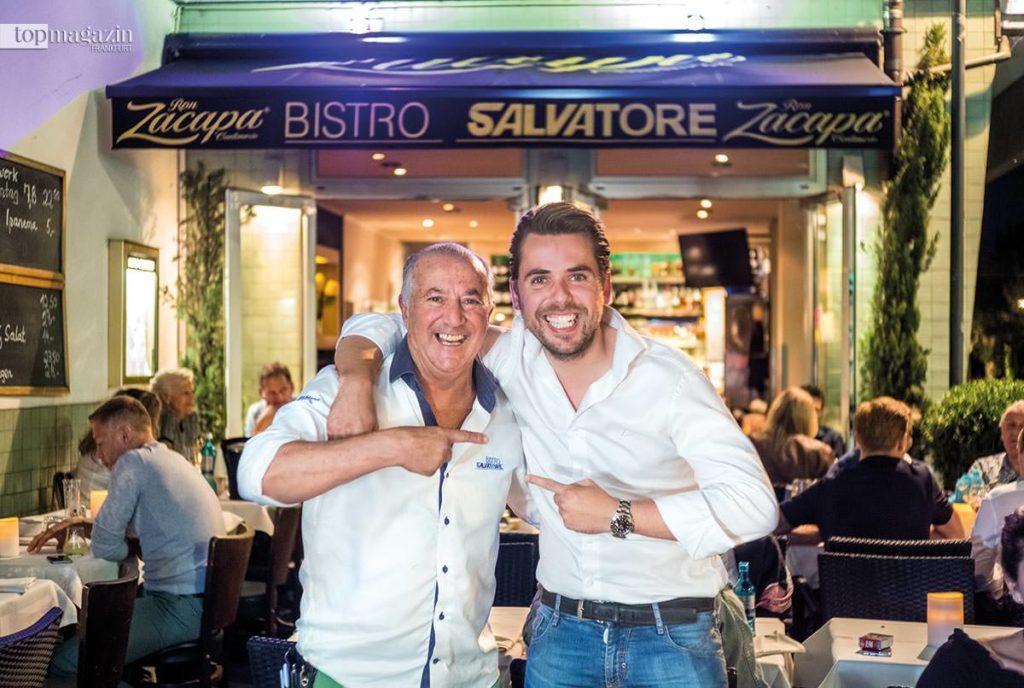 Salvatore Rimonti (Bistro Salvatore) mit seinem Sohn Dennis Rimonti (Lella Mozzarella)