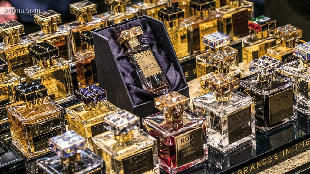 Düfte von Roja sind nur in ausgesuchten Parfümerien erhältlich.