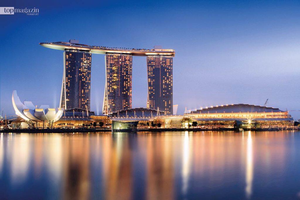 Das Marina Bay High Roller - von Spielern vewundert, von Casinos gefürchtetSands Resort in Singapur