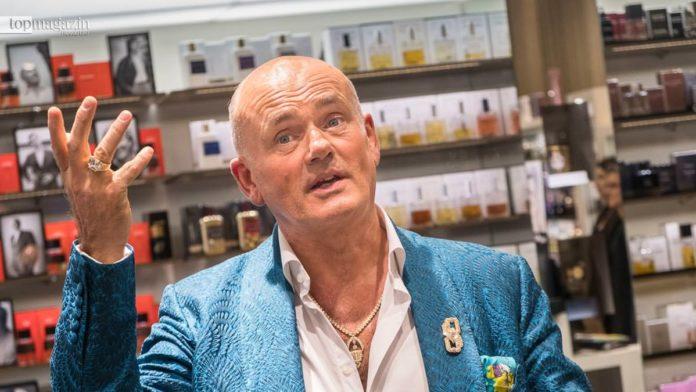 Roja Dove in der Parfümerie Albrecht