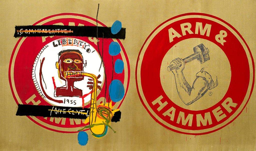 Arm and Hammer II von Jean-Michel Basquiat aus dem Jahr 1984