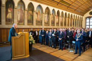 Lutz Raettig bei seine Rede (Foto Roessler)