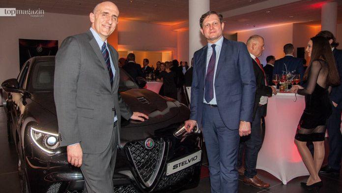 FCA-CEO Gaetano Torell und Motor City-Geschäftsführer Michael Bergmann