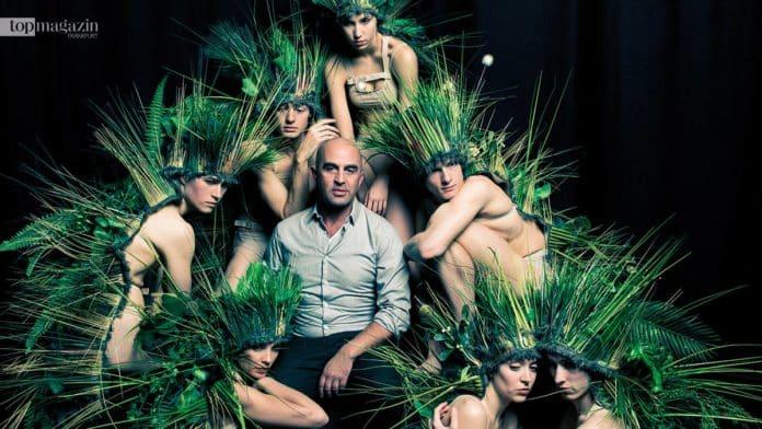 Jacopo Godani mit seinen Tänzern