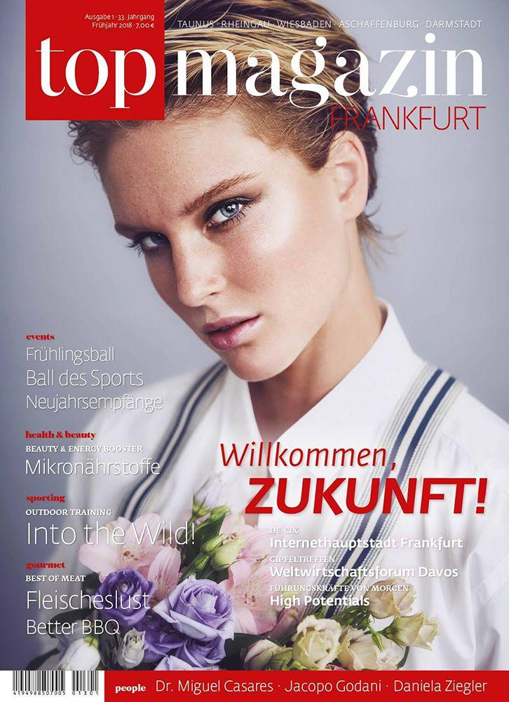 Top Magazin Frankfurt, Ausgabe Frühjahr 2018