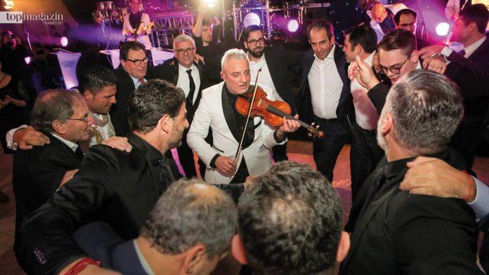 Die Showband Festival Mibely aus Paris beim klassischen Horatanz