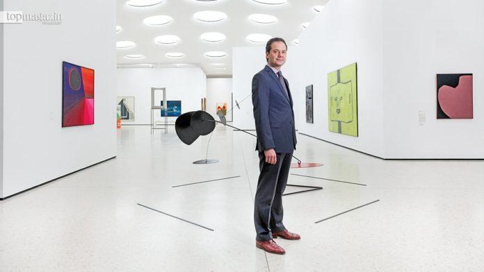 Hier noch im Städel - Max Hollein, zukünftiger Direktor des Metropolitan Museum in New York