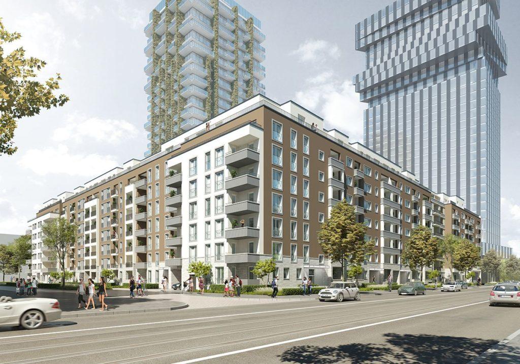 259 Passivhauswohnungen entstehen nach den Plänen des Frankfurter Architekturbüros AS&P