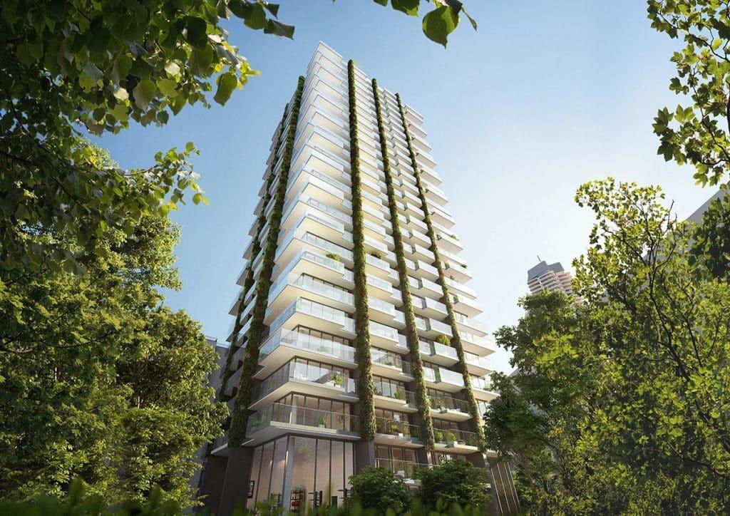 Das Wohnhochhaus Eden von gsp Städtebau
