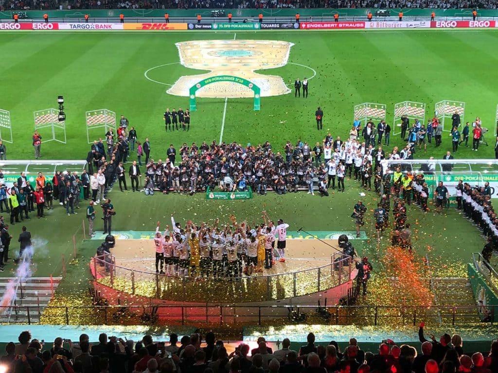 19. Mai 2018 - Eintracht Frankfurt wird zum fünften Mal DFB-Pokal-Sieger