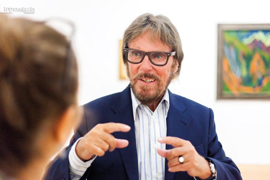 Frank Brabant im Gespräch