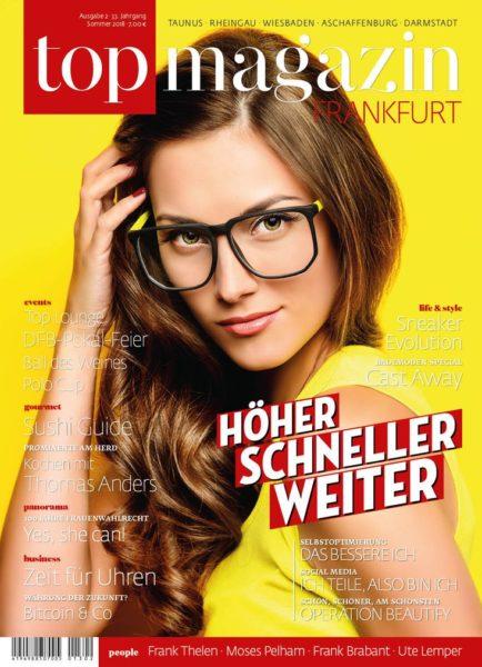Top Magazin Frankfurt Ausgabe Sommer 2018
