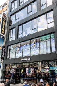 Der Samsung Showcase auf der Zeil - einen vergleichbaren Storegibt es bisher nur in New York