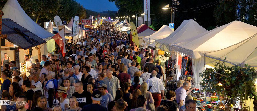 Beim Museumsuferfest kommen Kulturinteressierten ebenso wie Musikliebhaber und Feinschmecker auf ihre Kosten