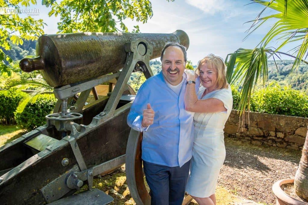 Die Gastgeber - Johann Lafer und Silvia Buchholz-Lafer