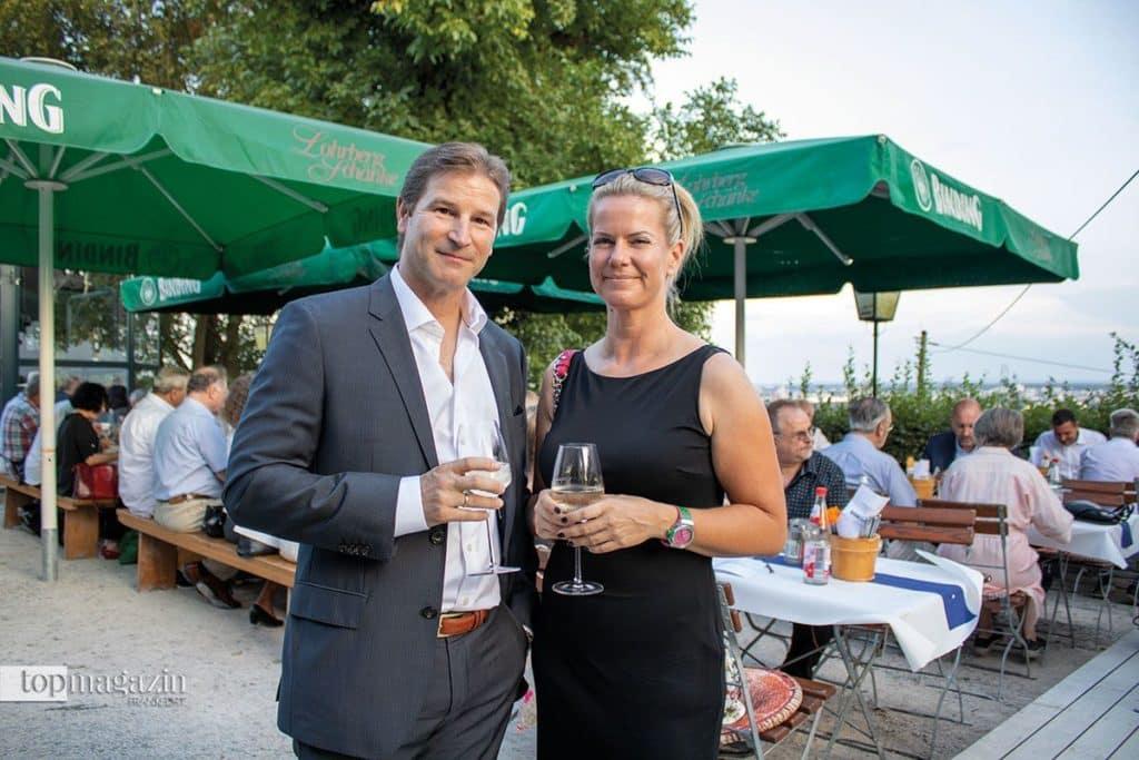 RFR Management-Geschäftsführer Dr. Alexander Koblischek mit Gattin Jasmin