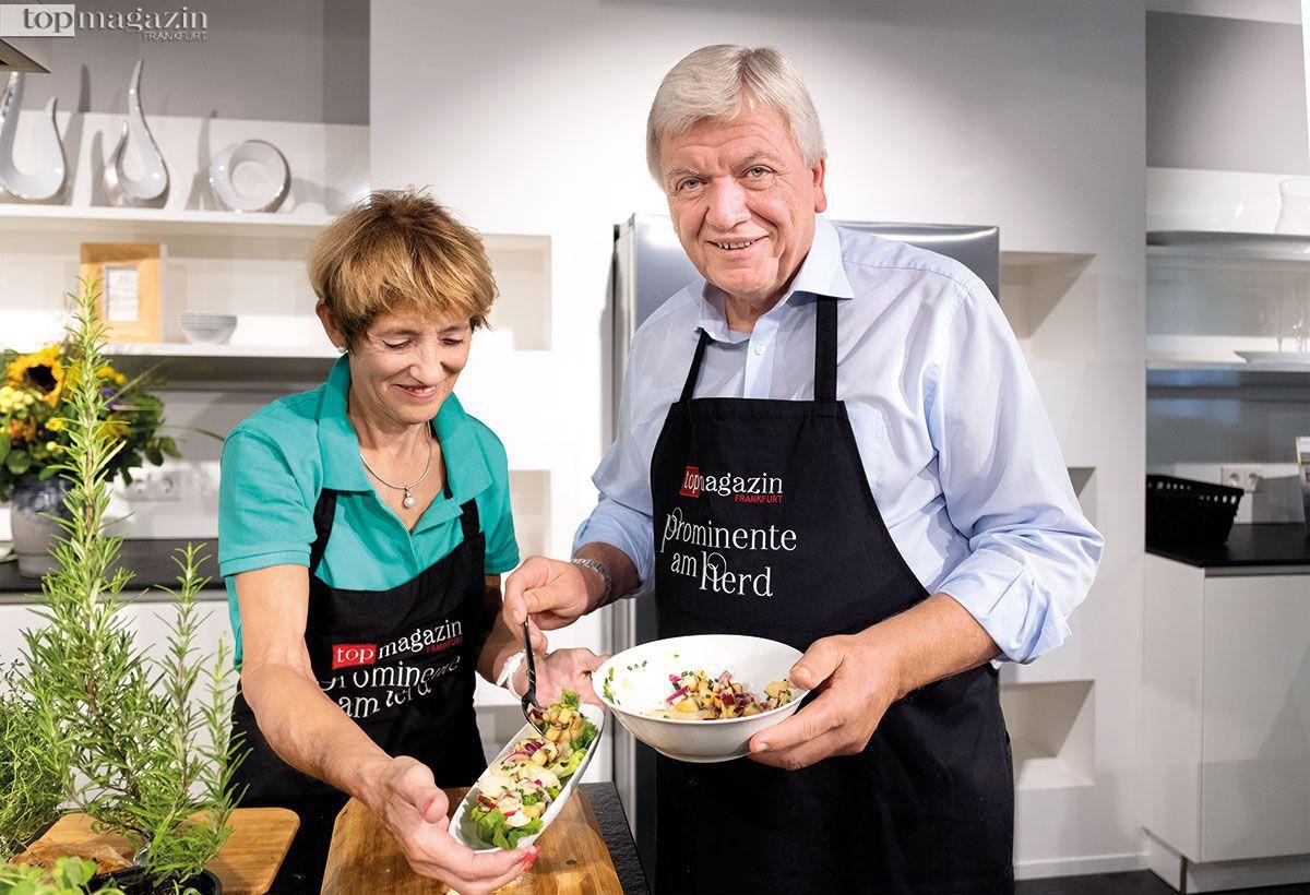 Auch in der Küche ist das Ehepaar ein eingespieltes Team