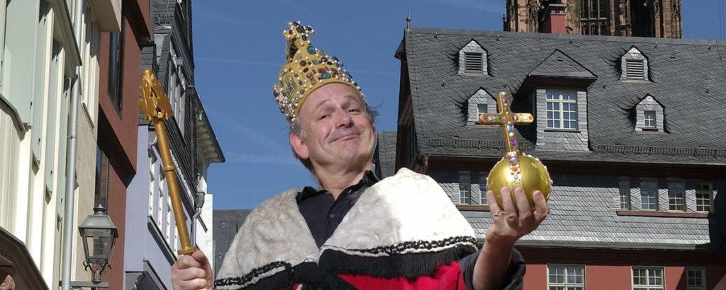 Schauspieler und Kabarettist Michael Quast von der Fliegenden Volksbühne