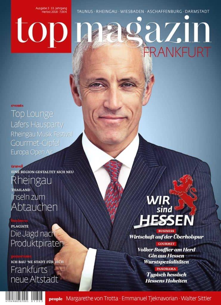 Top Magazin Frankfurt Ausgabe Herbst 2018