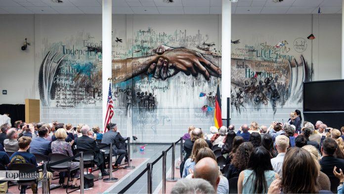 70 Jahre Berliner Luftbrücke in dem Generalkonsulat der Vereinigten Staaten von Amerika in Frankfurt
