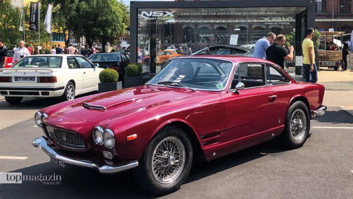 Das Maserati-Treffen in der Klassikstadt