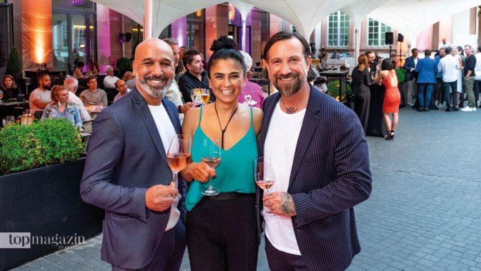 Die Macher - Mo Rahimi, Dana Arnold und Sadi Sanlav
